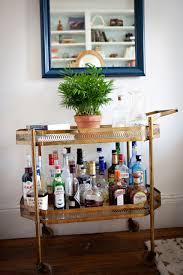 Mini Bars For Living Room Brass Cart Bar Love Pinterest House Tours Bar On Wheels And