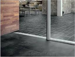 Black Slate Floor Tile Ardesia Liguria Black Slate Tiles from Italy