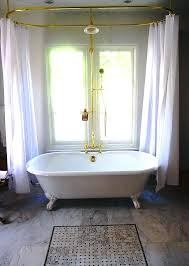 round shower curtains incredible curtain rod for tub inspirations uk