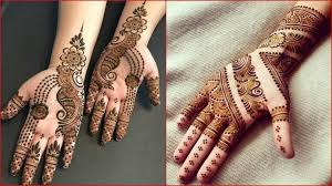 Mehndi Design Front Easy Mehndi Designs And Patterns For Raksha Bandhan 2019