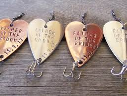 fishing themed wedding. Mens Gift Set 4 Personalized Wedding Favor Fishing Themed Wedding