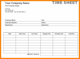 Free Timesheets Templates Beautiful Free Time Sheet Template Time ...