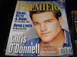 Premiere Magazine (Chris O'Donnell, Goldie..Bette..& Diane, David Lynch,  September 1996): First Look: Madonna's Evita: Amazon.com: Books
