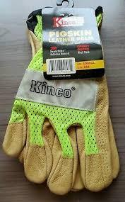 Kinco 901 Mens Pigskin Leather Ski Glove Heatkeep Thermal