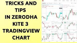Tricks And Tips In Zerodha Kite 3 Tradingview Chart