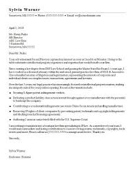 Attorney Relocation Cover Letter How To Write A Relocation