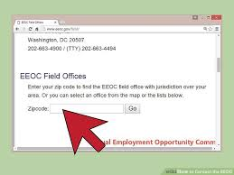 4 Ways To Contact The Eeoc Wikihow