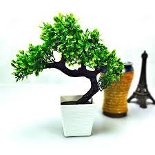 artificial flower potted bonsai set fake flower plant pine trees komatsuchina mainland artificial plants for office decor