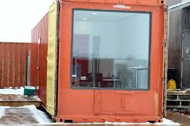 shipping containers office. Shipping Container Modified To Office Containers T