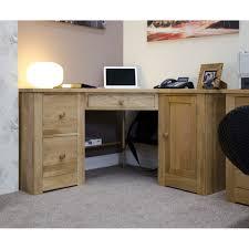 dalton corner computer desk sand oak. Torino Oak Corner Desk Dalton Computer Sand