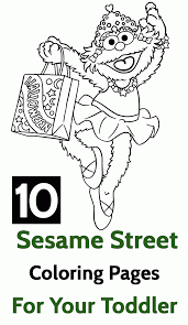 Sesame Street Count Coloring Pages - Coloring Home