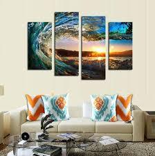 ocean scene wall art nice inspiration ideas beach wall art canvas
