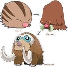 72 Genuine Pokemon Swinub Evolution Chart