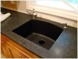 Granite Undermount Kitchen Sinks Black Undermount Kitchen Sink Australia Kohler Smart Divide For