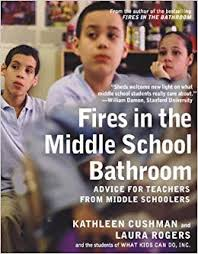 middle school bathroom. Contemporary Bathroom Fires In The Middle School Bathroom Advice For Teachers From  Schoolers Kathleen Cushman Laura Rogers 9781595584830 Amazoncom Books To Bathroom L