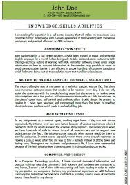 Sample Federal Resume Ksa Ksa Example Resume Examples Communication Skills Knowledge
