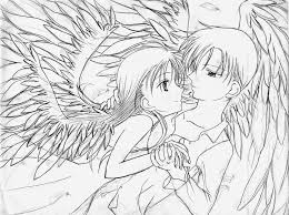 Anime Love Coloring Pages With Coloring Pages Anime Coloring Pages
