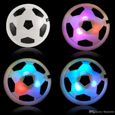Lighted Hover Ball Instructions 18cm Funny Led Light Flashing Hover Ball Toys Air Power Soccer Balls Disc Gliding Multi Surface Hovering Football Game Toy Kid Chidren Gift Flight