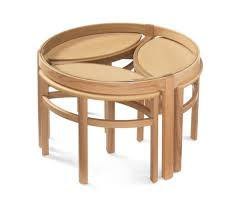 shades of wood furniture. Nathan Shades Oak 5615 Trinity Glass Top Nest Of Tables Shades Wood Furniture
