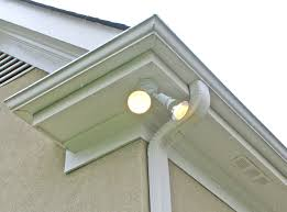 How To Install A Security Light From Scratch Photo Tutorial Showing How To Install A Floodlight And