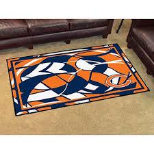 chicago bears logo 4 x6 nfl plush rugsfanmats