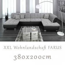 Xxl Wohnlandschaft Sofa U Form Couch Garnitur Neu Möbel Wurm