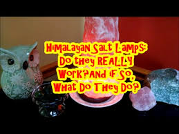 How Do Salt Lamps Work Stunning 💎Himalayan Salt Lamps Do They REALLY Work And If So HOW