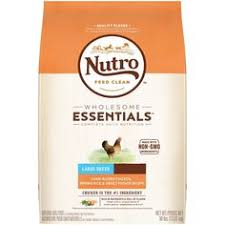 nutro wholesome essentials large breed en rice dry dog food 30lb sweet potato