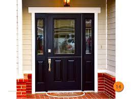 stylish ideas front door trendy black doors for 2018 todays entry