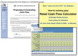 online cash flow calculator retail owners institute owners center paying for it all