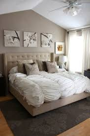 Neutral Wall Colors For Bedroom Lovely Bedroom Designed With Neutral Wall Colors And Decorated