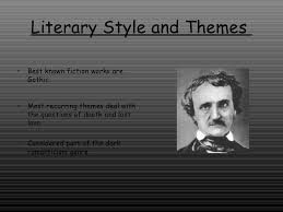 writing style of edgar allan poe