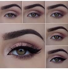 rose gold eye make pictorial