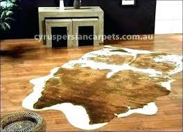 faux fur animal rug rugs hide skin cowhide with remodel 4 for south africa bear skin rug real fake animal