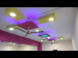 simple beautiful false ceiling design with lights