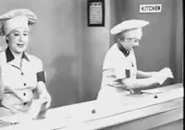 factory gif. i love lucy chocolate factory gif