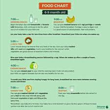 9 Month Baby Weight Gain Food Chart 8month Baby Healthy N Weight Gaining Food Chart Plz