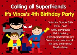 superheroes birthday party invitations superhero birthday party invitations