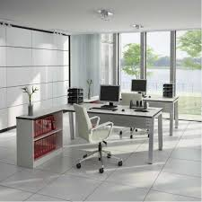 furniture modern designed elegant office furniture nuanced in white and completed with l shaped computer elegant design home office furniture