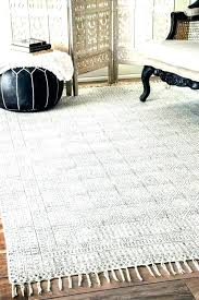 chunky cable wool rug trellis handmade abstract fancy pixel round ivory nuloom moroccan