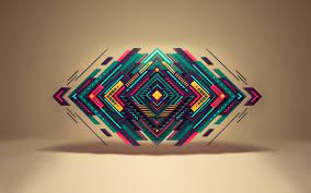 Geometric shapes wallpaper, Abstract ...