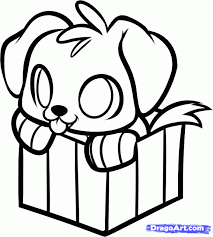 Small Picture Cartoon Puppy Drawings How To Draw A Step 7jpg Coloring Pages