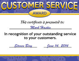 customer service award template free customer service week certificates poster downloads promos