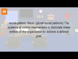 Patterns Definition Awesome What Is The Definition Of Social Patterns YouTube