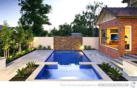Backyard Pool Designs For Small Yards Awesome Swimming Pool In Small Backyard Swimming Pools For Small Yards