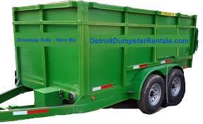 dumpster rental detroit. Delighful Dumpster Detroit Dumpster Rentals 10 Yard Rubber Wheeled Dumpster On Rental R