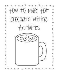 hot chocolate mug writing template. Exellent Mug How To Make Hot Chocolate Writing Activities On Mug Template