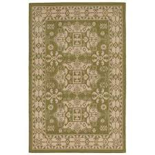 baxter traditions green 8 ft x 10 ft indoor outdoor area rug
