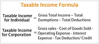 Pay Deduction Calculator Taxable Income Formula Examples How To Calculate Taxable