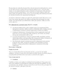 Retail Buyer Resume Examples Good General Objective For Resumes